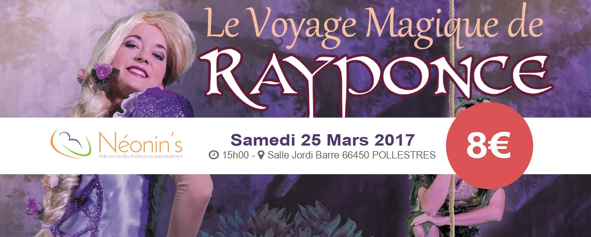 Le voyage magique de Rayponce
